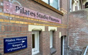 Pilates Studio Pitonyasa - entrance
